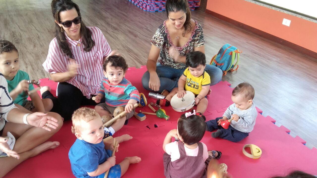 Musicalização de Bebês no Espaço Integrado
